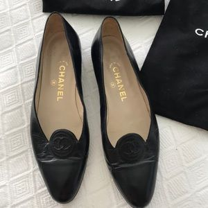 Authentic Chanel Ladies Shoes- vintage